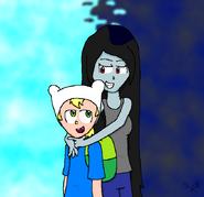 Finn and marceline by natthepopcornfairy-d2y08dq