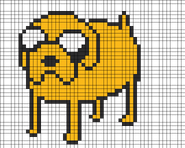 4703-Adventure Time Jake The Dog
