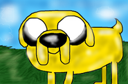 Adventure Time Jake by PlagueDogs123