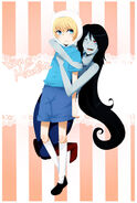 Finn and marceline by tomoe chi-d4y9yee