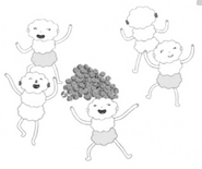 Soft People dancing around gold