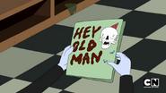 S5e14 HEY OLD MAN card