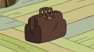 S9e2 Ice King and BMO's brown sale bag