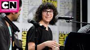Rebecca Sugar at the Adventure Time Finale Comic-con Pannel