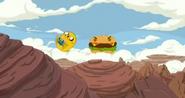 Burgermonsterfinninjakeshand