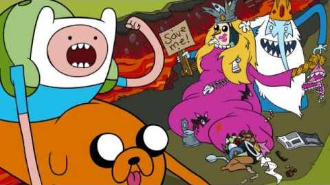 Adventure Time: Hey Ice King! Why'd you steal our garbage?!! (song)