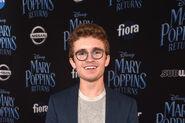 Sean Giambrone at Disney's Mary Poppins Returns World Premiere
