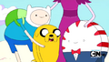 S2e17 Finn and Jake with Peppermint Butler