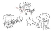 BMO character designs by Andy Ristaino No. 1
