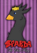 Sparda the chat king by creepygabby-d503z9g