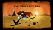 The Great Bird Man (Title Card)