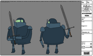 Modelsheet knight2