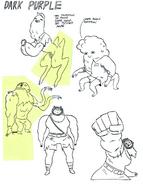Dark Purple concept drawings by writer and storyboard artist Adam Muto (2)