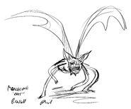 Modelsheet-Marceline Bat