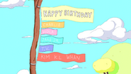S6e12 Happy birthday