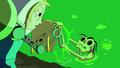 S5e2 Finn taking Jake from Marceline
