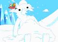 S1e3 Snow Golem's head exploded