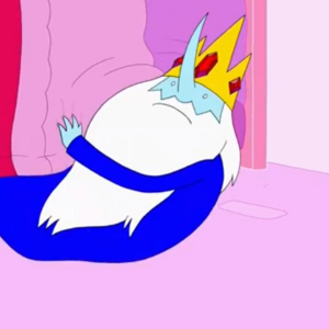 S5 e22 Ice King emerging from under PB's bed.PNG