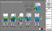 Modelsheet Finn Dawn Color
