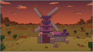 Background Minecraft Windmill