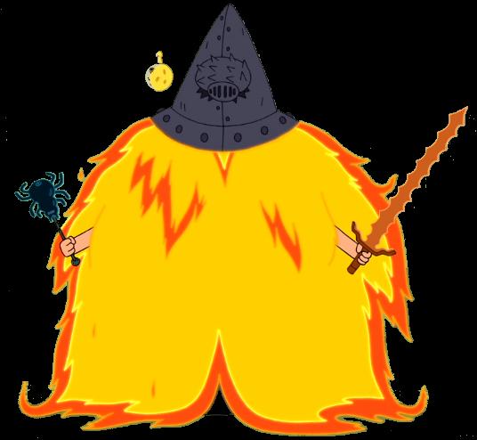 Flame cloak