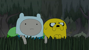 S4e23 Finn and Jake spying