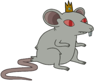 Rat King render