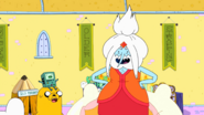 S10E5 Ice King as Flame Princess