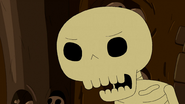 S5 e12 Skeleton growling back at Finn