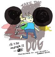 Jake the Dog promo art
