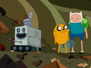 S4e1 Neptr with Finn and Jake