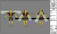 Modelsheet breezy - queenbee