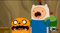 S5e13 Finn and Jake witness num-num time