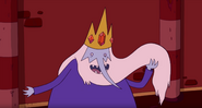 Ice King without eyebrows error in Ricardio The Heart Guy
