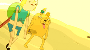 S5e13 Finn and Jake thirsty and tired