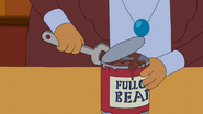 S6e34 Morty Rogers opening can of beans