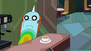S7e30 Roy in coffee shop looking shocked