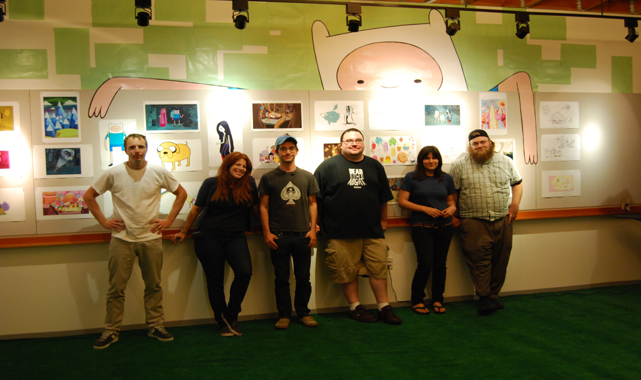 Adventure Time Staff