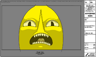 Modelsheet Lemongrab Close up with Rims