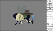 Modelsheet flyspy w magnifyingglass