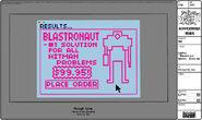 Modelsheet laptop blastronaut screen - closeup