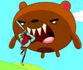 S1e25 Billy fighting a bear