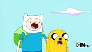 S2e17 Finn and Jake agape