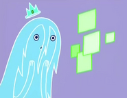 S2e3 Ghost Princess on phone