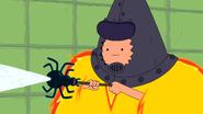 S5e36 Finn using spider wand