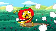 S1e22 Strawberry Jake throwing garlic 2
