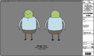 Modelsheet Fat Farmer Villager -1