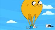 S4 E7 Jake as a parachute