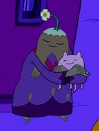 S5e10 Magi hugging hat