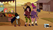 S5e1 Farmworld Marceline and Destiny Gang members